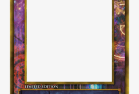 Yugioh Card Png – Yu Gi Oh Card Base – Free Transparent Png within Yugioh Card Template